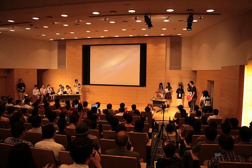 OSC2013 Hokkaido 閉会式LTの様子